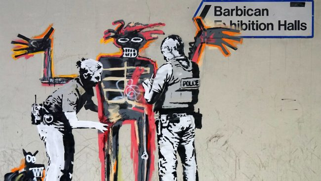 Graffiti Connection, Graffiti Connection: Basquiat and Banksy