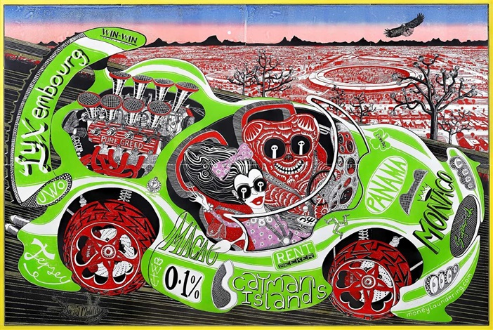 Sponsored By You by Grayson Perry