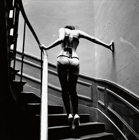 Upstairs, Paris by Ellen Von Unwerth