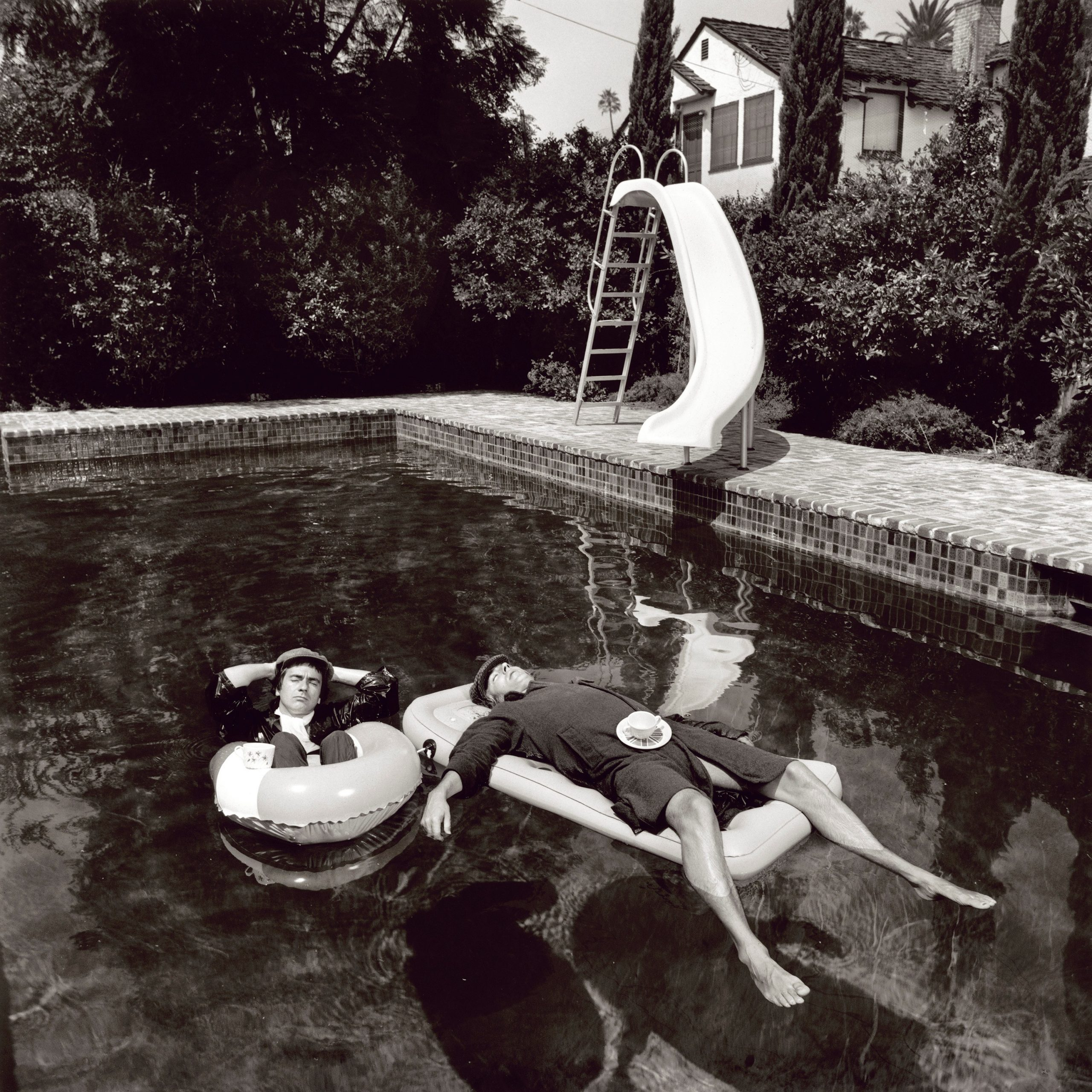 Pete and Dud by Terry O'Neill