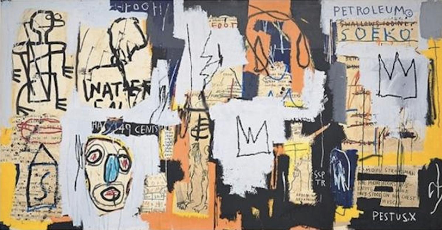 Phooey by Jean-Michel Basquiat