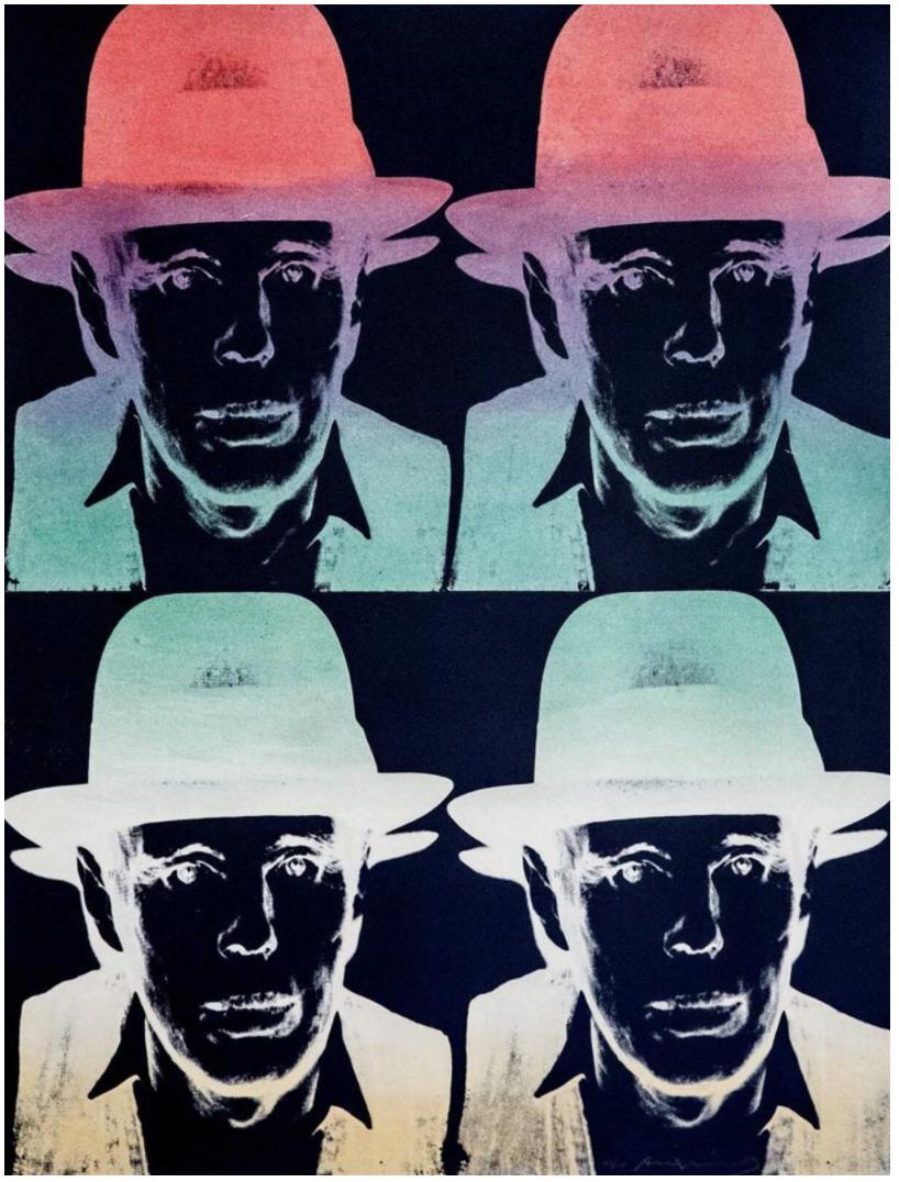 Joseph Beuys FS II 243 , State II by Andy Warhol