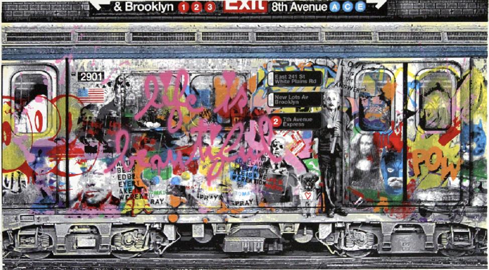 Chelsea Express by Mr Brainwash