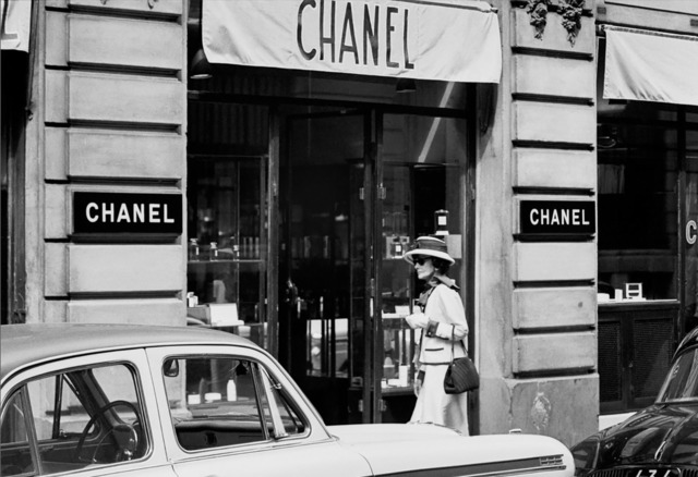 Coco Chanel, Enters Atelier at 31 Rue Cambon Paris by Douglas Kirkland